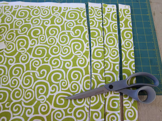 Cortina con tiras y nudos dale detalles - Como hacer cortinas de tiras ...