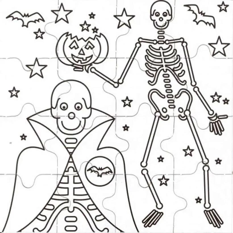 Esqueletos Recortables Dale Detalles