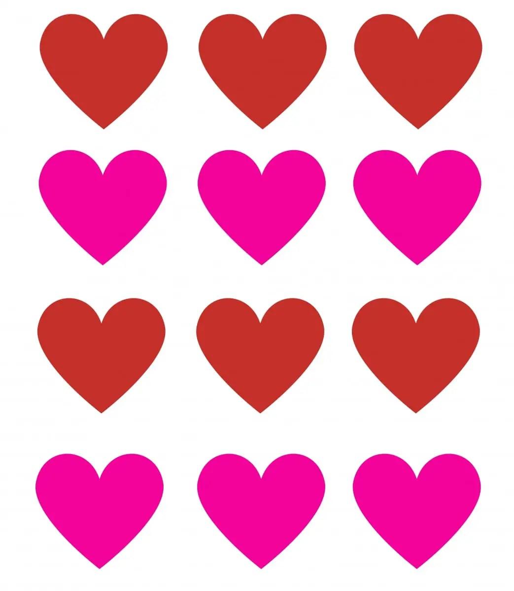 Flor de corazones para decorar tarjetas o regalos dale for Imagenes bonitas para decorar