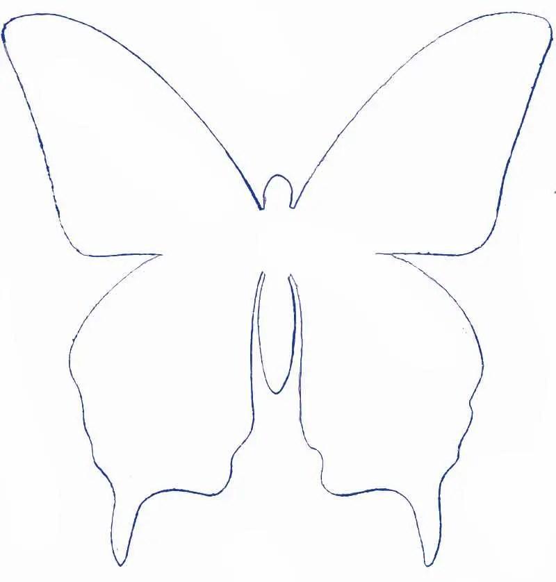 Mariposas de papel para decorar dale detalles - Como hacer mariposas de papel para decorar paredes ...