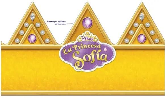 imprimible princesita sofia