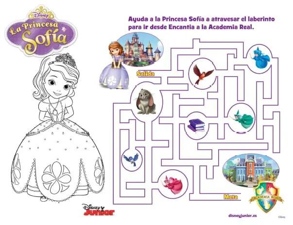 imprimible princesita sofia4