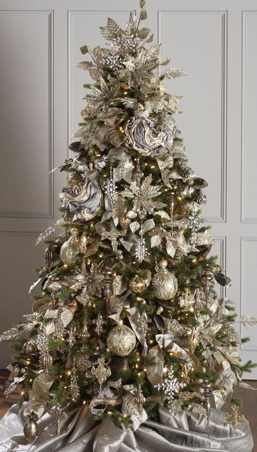RAZ Imports 2015 - Gilded Grey Tree