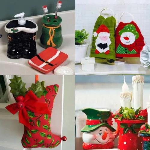 Decoraci n navide a para ba os dale detalles for Accesorios para decorar en navidad