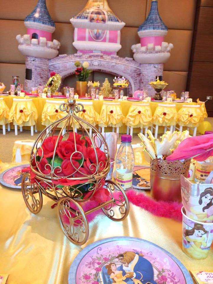 Fiesta tem tica bella y bestia dale detalles - Detalles de fiesta ...