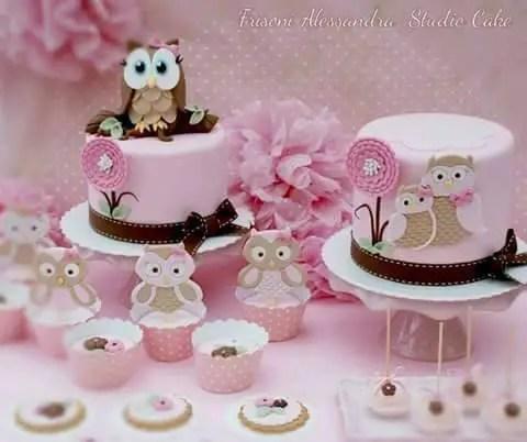 Cake Owl Topper