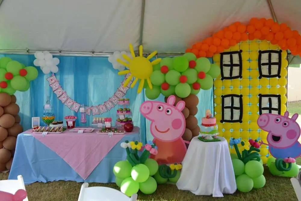 si tu pequea quiere este tema para su fiesta de cumpleaos estas ideas para fiestas infantiles de peppa pig seguro que