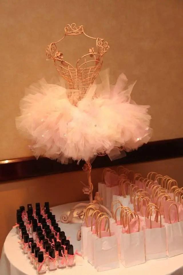 Ideas Para Fiesta De Bailarina Dale Detalles