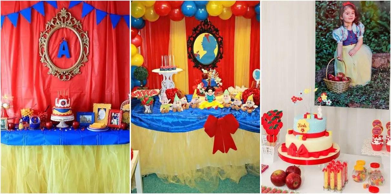 Blanca nieves fiesta infantil dale detalles - Fiesta infantil tematica ...