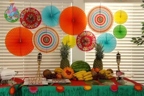 Fiesta hawaiana dale detalles - Decoraciones de exteriores ...