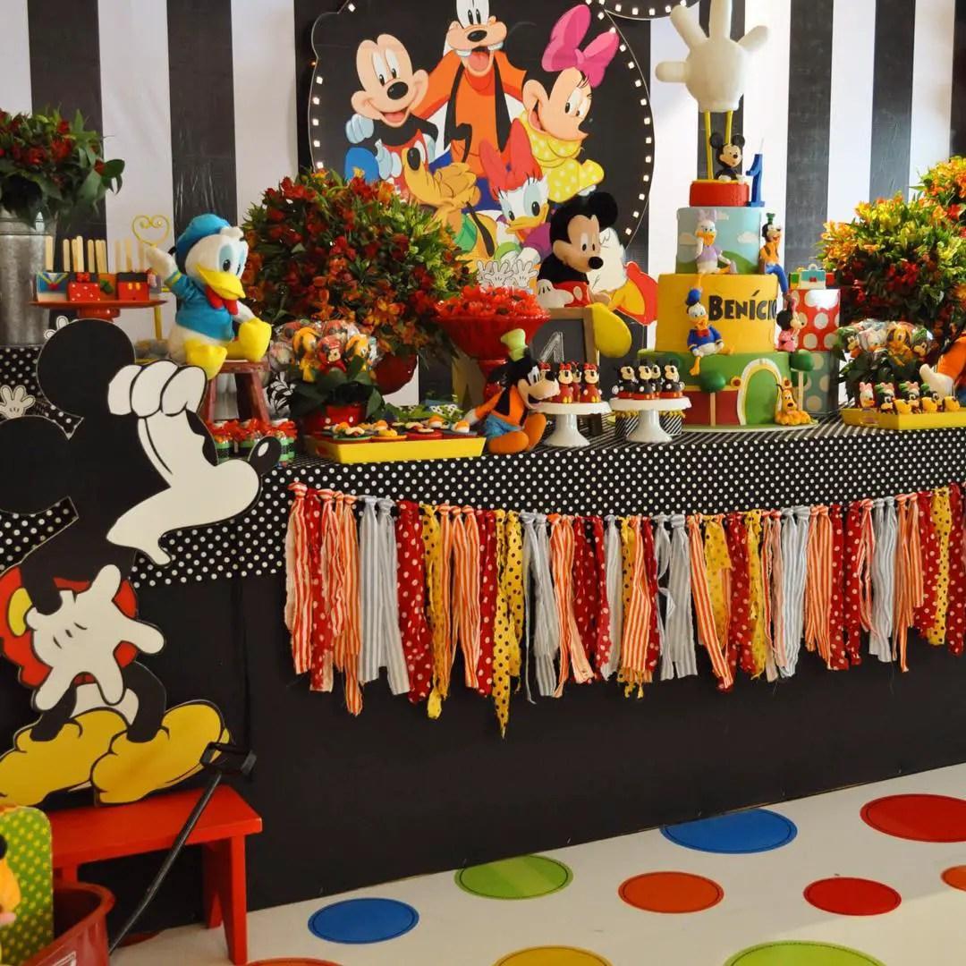 Fiesta tema mickey mouse dale detalles - Ideas fiesta cumpleanos ...
