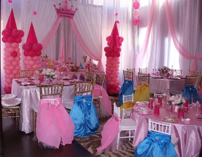 Princesas disney fiesta infantil dale detalles - Decoracion fiesta princesas disney ...