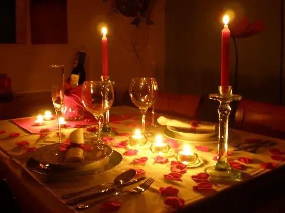 Ideas para el dia de los enamorados dale detalles - Idee cena romantica a casa ...