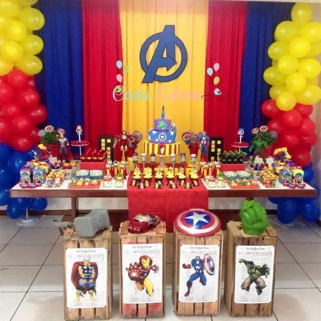 Matrimonio Tema Marvel : Avengers y superhéroes dale detalles