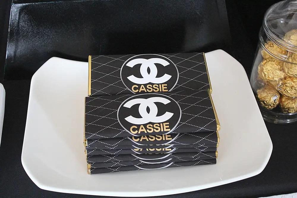 Printable Chanel Cake
