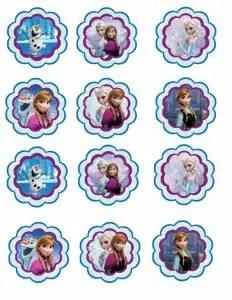 imprimibles frozen5