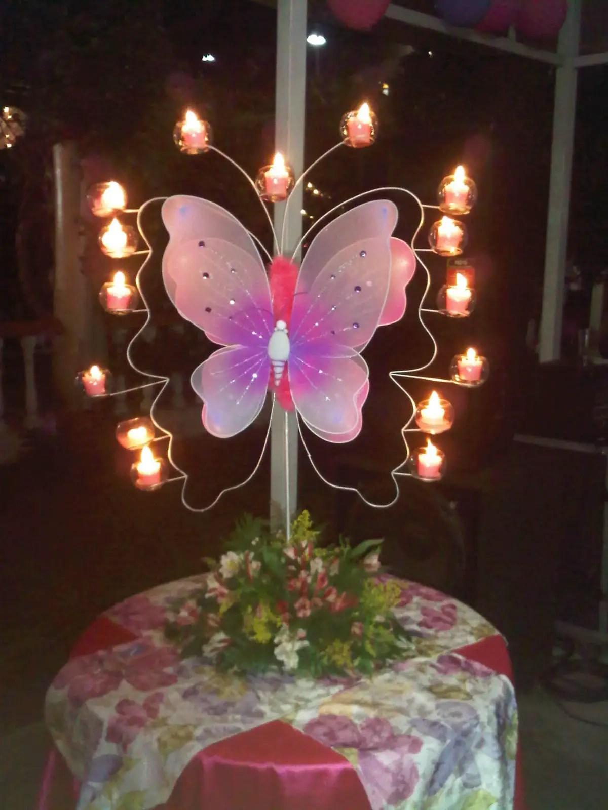 Fiesta tem tica mariposas dale detalles for Buscar decoraciones