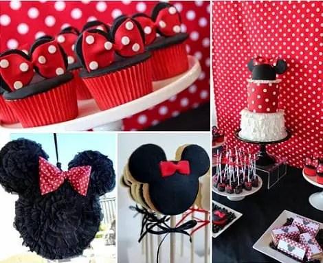 Minnie mouse en rojo - Dale Detalles