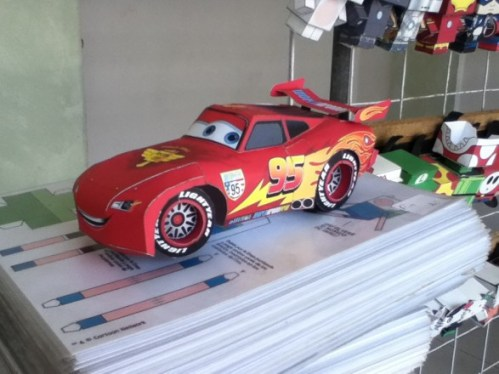 Rayo McQueen 3D