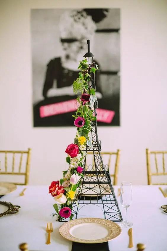 Centros de mesa con torre eiffel dale detalles - Donde decorar fotos ...