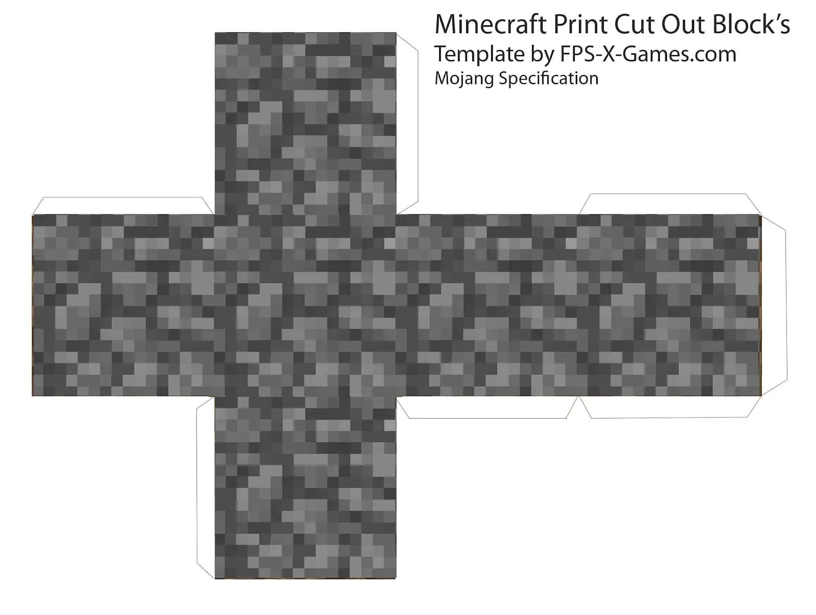Minecraft Imprimibles Gratis Dale Detalles