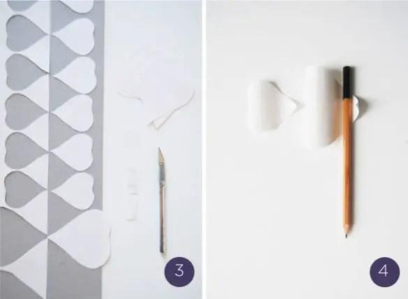 flor de papel molde6-2