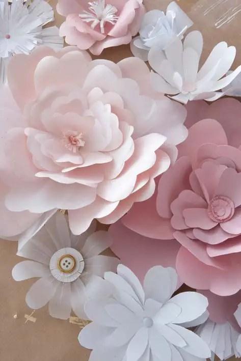 C mo hacer flores de papel gigantes para eventos dale for Pinterest flur
