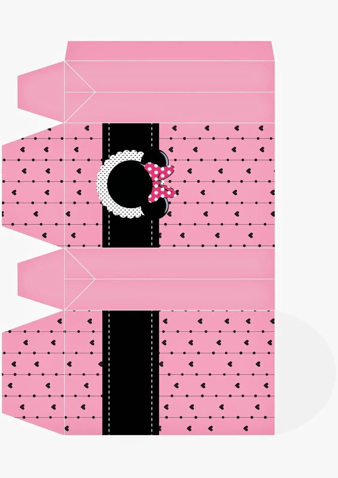 Imprimibles De Minnie En Rosa Dale Detalles