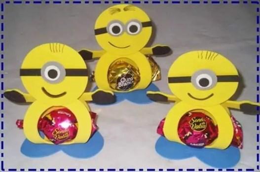 porta dulces de fomi6