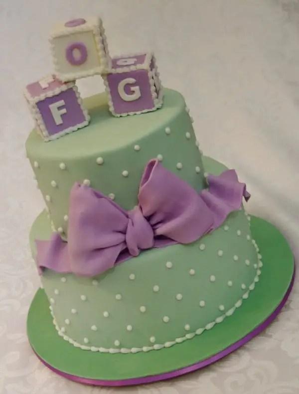 baby shower en tono purpura y verde11