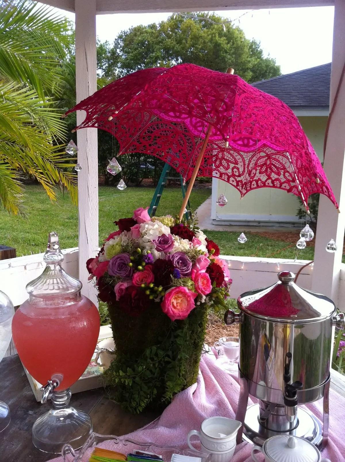 Floral Bridal Shower Decorations