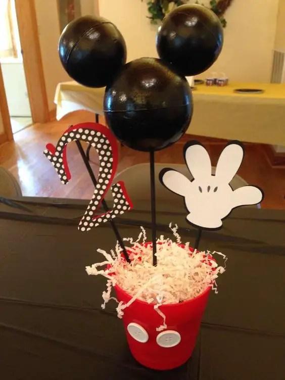 Como De Mesa Centro Un Mouse De Minnie Hacer