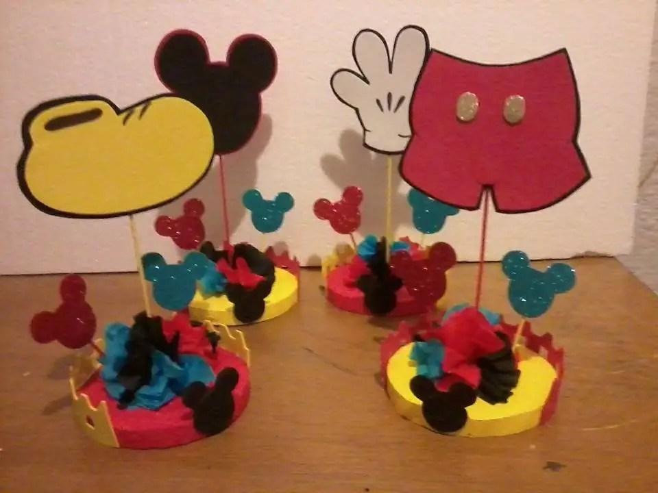 Centro Mouse De Como De Minnie Un Hacer Mesa