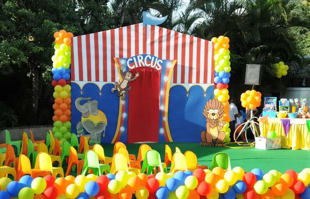 Circo tema infantil dale detalles - Todo para fiestas de cumpleanos ...