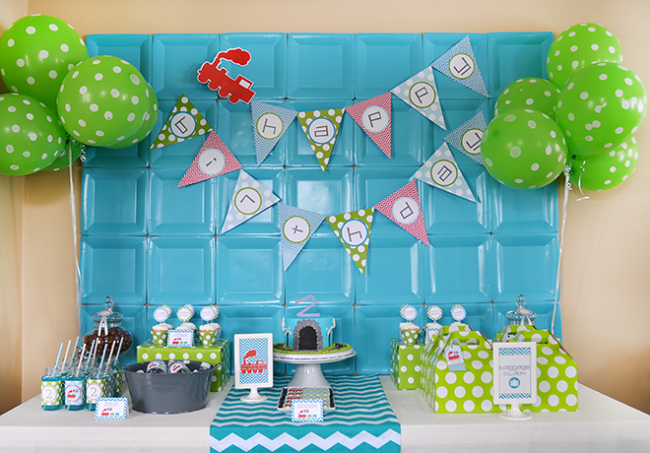 Preciosa  Decoracion Fiesta Baby Shower Nina #10: Decoracion-con-platos16.png
