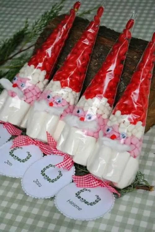 dulces en conos de celofan8
