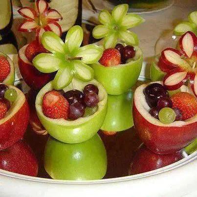 formas de servir fruta9