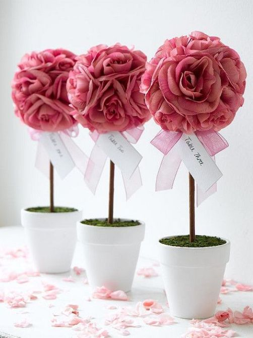 Topiarios hermosos para decorar tu evento Dale Detalles