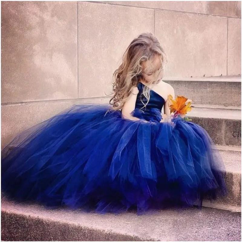 c005d10756b2 Vestidos de tul para niñas - Dale Detalles