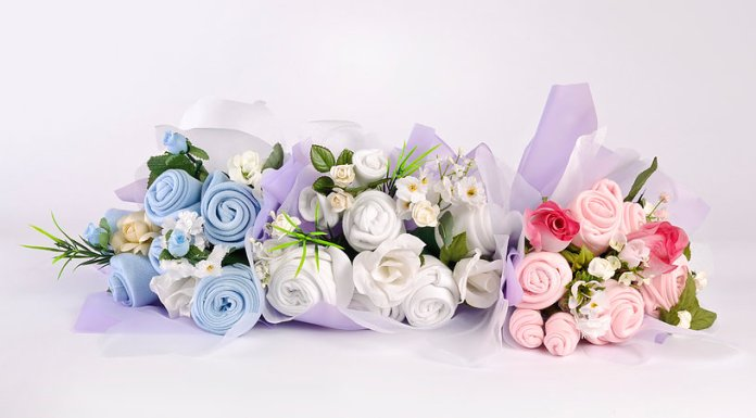 bouquet con ropa de bebe13