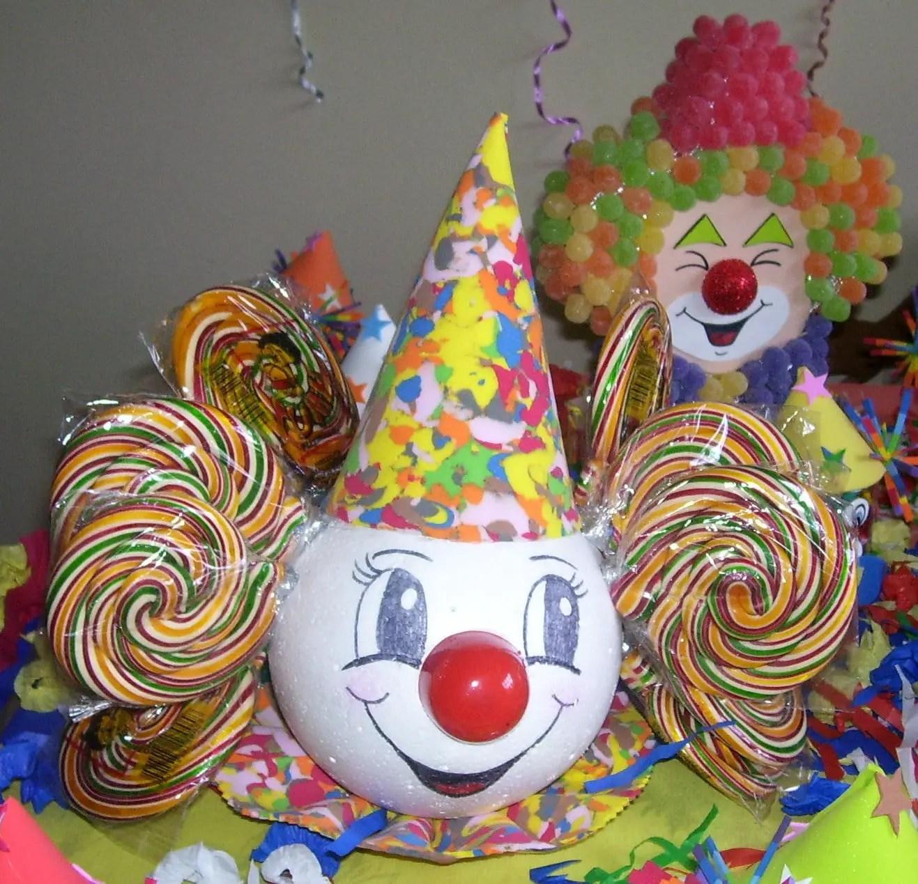 Fiesta infantil de payasos dale detalles for Detalles de decoracion