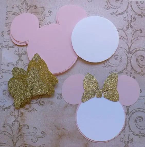 Invitaciones Con Tema De Mickey Y Minnie Mouse Dale Detalles