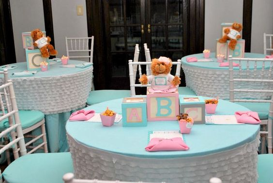 Ideas De Temas Para Baby Shower.Baby Shower Con Tema De Bloques O Cubos De Bebe Dale Detalles