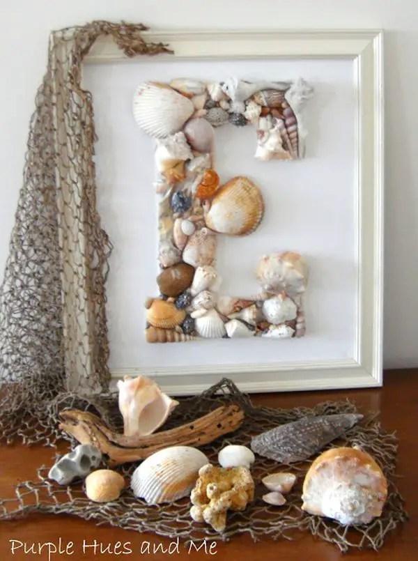 decoraci n con conchas marinas y caracoles dale detalles. Black Bedroom Furniture Sets. Home Design Ideas