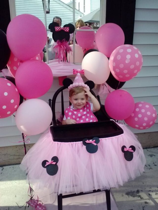 silla de bebe decorada