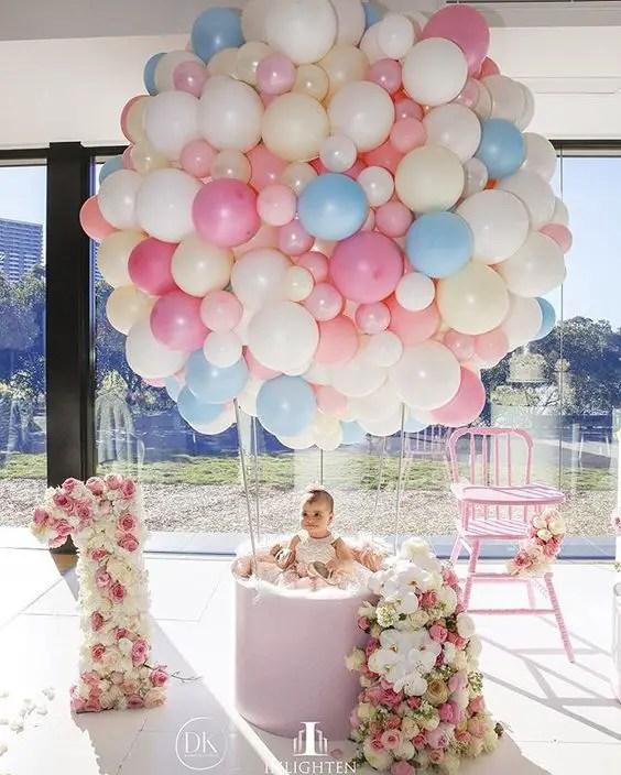 Ideas para decorar la silla del beb en su primer - Ideas para cumpleanos de bebes ...