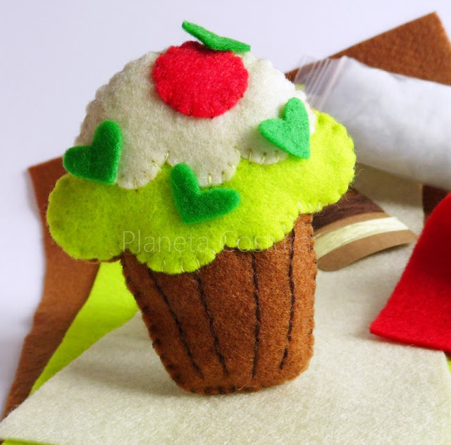 cupcake-fieltro