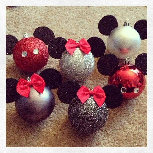 Moldes De Mickey >> Decoración navideña con tema Mickey Mouse - Dale Detalles
