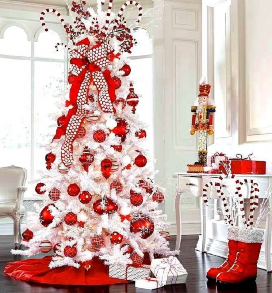 si an no sabes como decorar tu rbol blanco hoy te tengo esta galera que podr servirte de inspiracin y dar un toque de y elegancia a tu