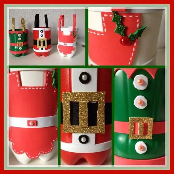navidad-con-botellas-de-plastico1